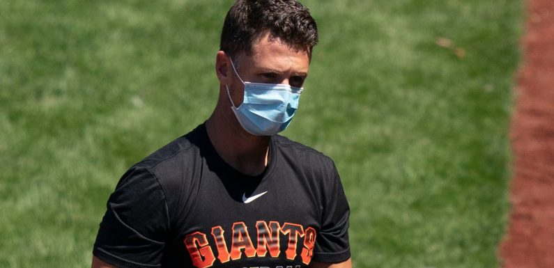 Buster Posey opts back into baseball after a diaper-flinging, reflective 2020: 'It's great to be back'