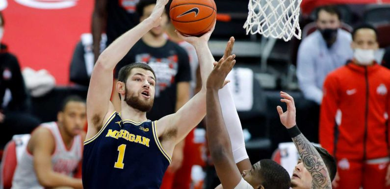 No. 3 Michigan men's basketball lands final punch in 92-87 win at No. 4 Ohio State
