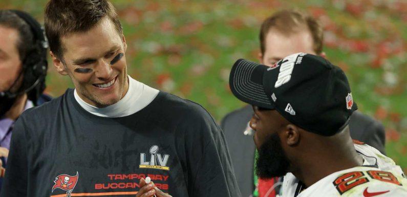 Leonard Fournette says Tom Brady's Super Bowl pregame speech about honor 'woke us up'