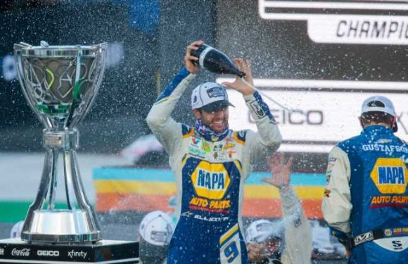 Chase Elliott excited to 'keep pushing' as he defends his NASCAR Cup Series championship