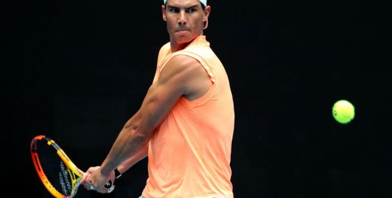 Tennis: 'Suffering' Nadal's Australian Open in doubt with back injury