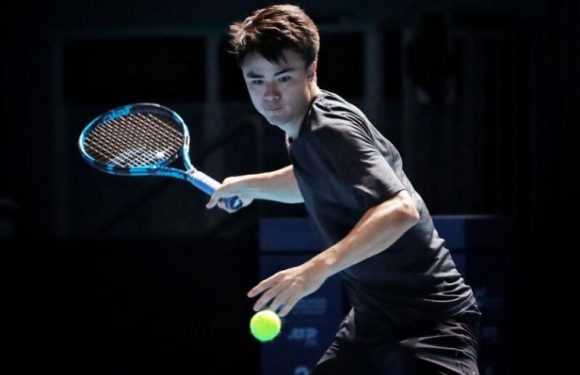 Tennis: Courtside with Japanese player Taro Daniel