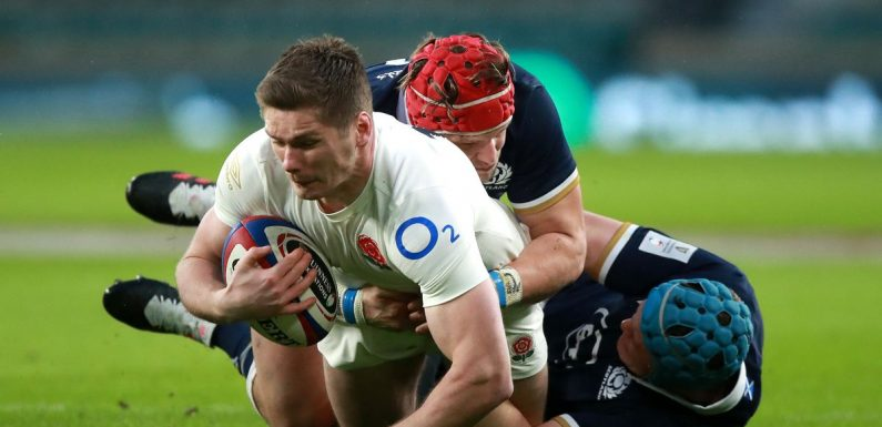 Jones backs captain Farrell in wake of England's Calcutta Cup calamity