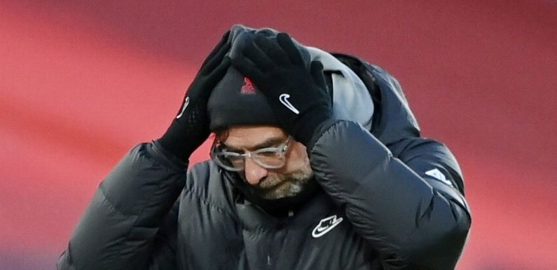 Klopp's Everton comments backfire as Liverpool suffer humiliating derby loss