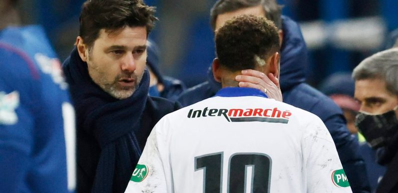 Mauricio Pochettino's worst fears confirmed as PSG suffer Neymar injury blow