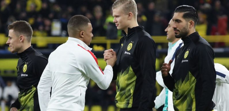 Micah Richards and Chris Sutton disagree in Haaland vs Mbappe debate