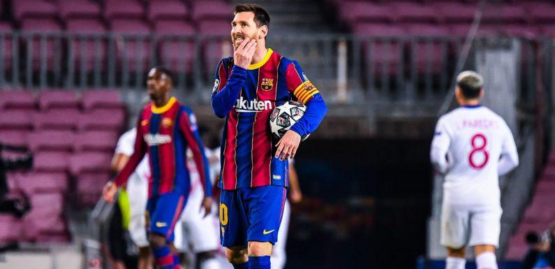 Joan Laporta addresses Lionel Messi's Barcelona future after humbling PSG defeat