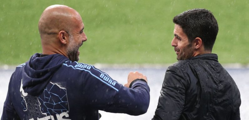 Mikel Arteta insists 'first job' comparisons with Pep Guardiola are unfair