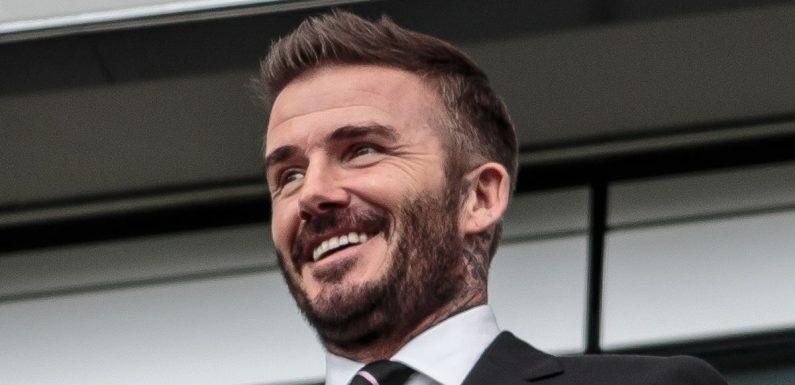Beckham makes honest admission to Rashford after Man Utd goals record equalled