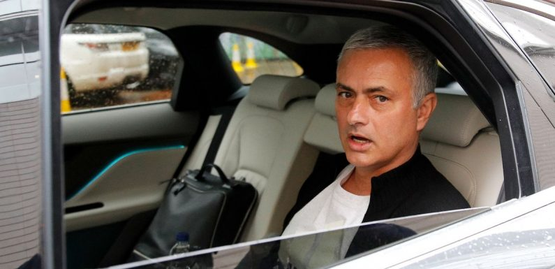 Mourinho's 12-day plan to save his job at Tottenham as replacement identified