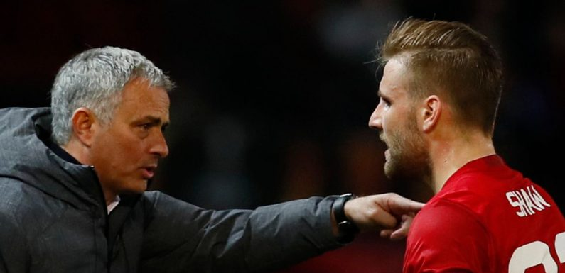 """Luke Shaw opens up on Jose Mourinho criticism and """"very hard time"""" at Man Utd"""