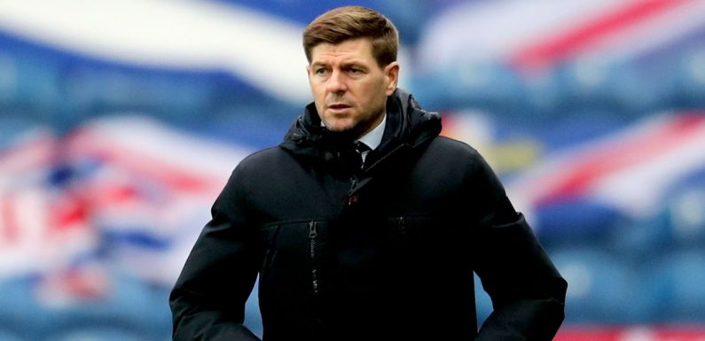 Steven Gerrard compared with Sir Alex Ferguson as Rangers close in on title