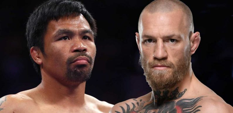 Conor McGregor urged to quit UFC to focus on beating Manny Pacquiao