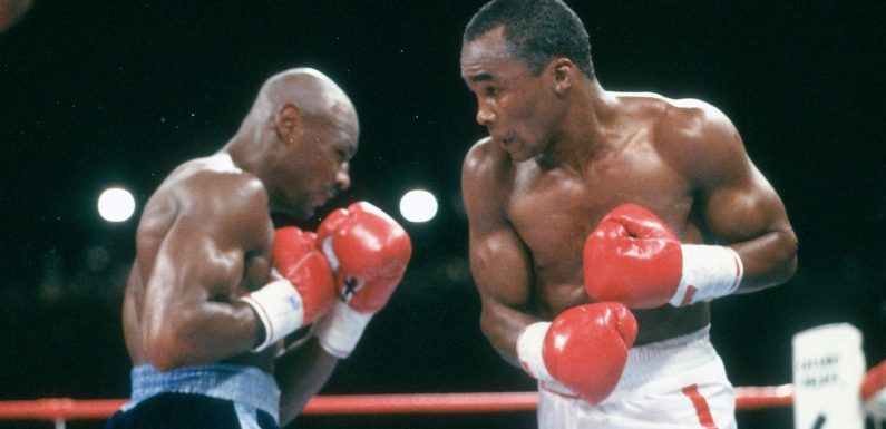 Old foes Sugar Ray Leonard and Marvin Hagler unite in fight for equality