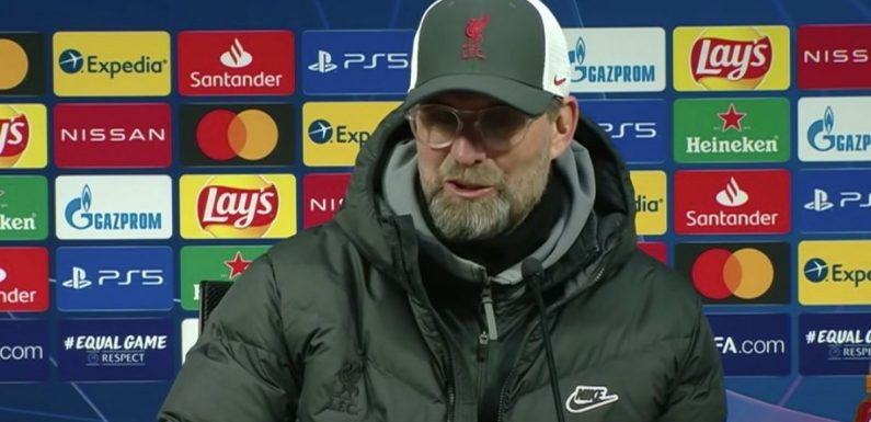 Klopp drops Liverpool return hint at very end of Leipzig press conference