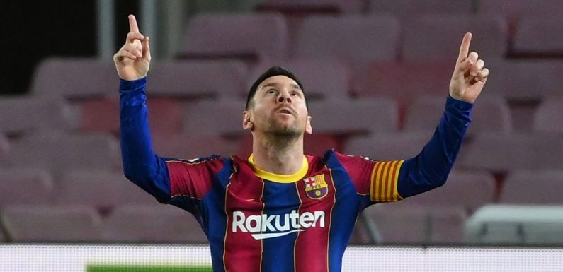 Man City dealt blow in Messi transfer chase as PSG table eye-watering contract