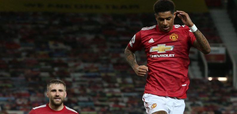 Marcus Rashford sets goalscoring target for Man Utd