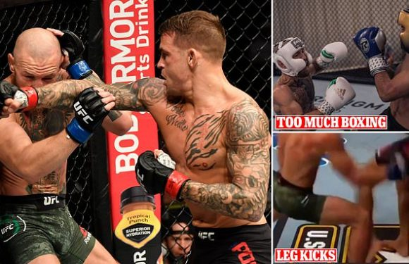McGregor admits he 'deserved to have legs kicked off' in Poirer loss