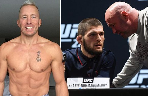 GSP 'is getting ready to face Khabib', claims Kenny Florian