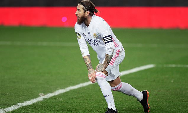 Ramos' injury 'may jeopardise his chances of landing new Madrid deal'