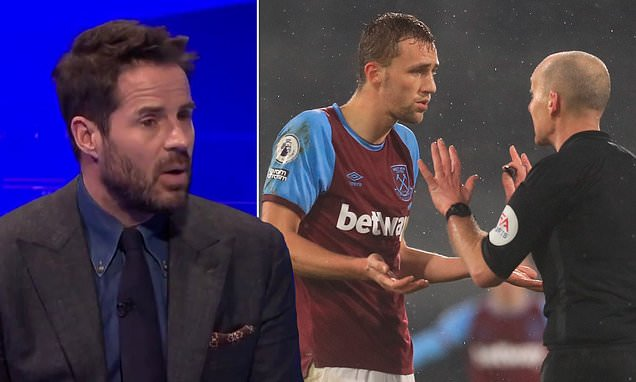 Redknapp astonished at Mike Dean's decision to send off Tomas Soucek
