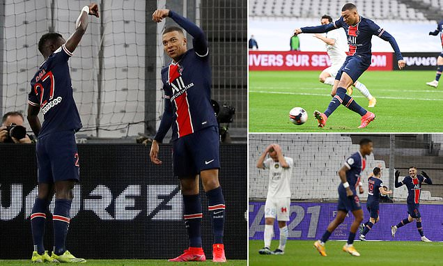 Mbappe and Icardi strike as hosts claim crucial win in title race