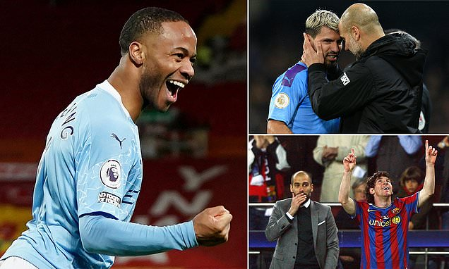 Sterling joins Messi and Aguero in scoring 100 goals under Guardiola