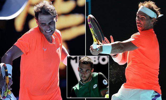 Rafael Nadal beats Laslo Djere in round one of the Australian Open