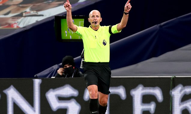 Mike Dean will not referee a Premier League game this weekend