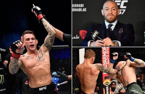 UFC 'heading in the direction' of McGregor vs Poirier III