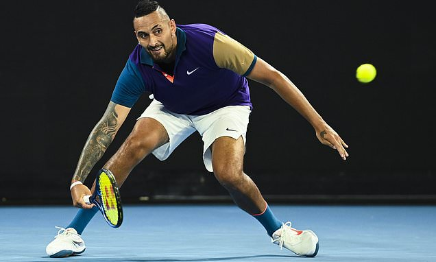 Nick Kyrgios battles back to defeat Ugo Humbert in at Australian Open