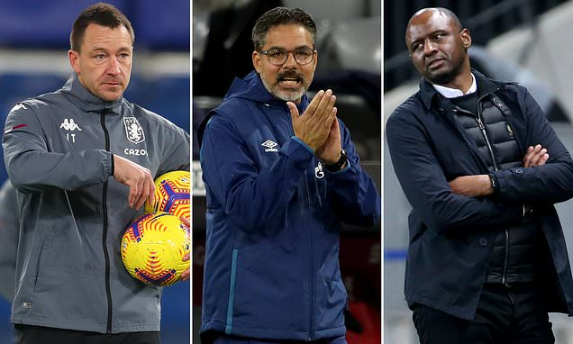 Vieira, Wagner and Terry on shortlist for Bournemouth job