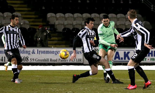 St Mirren 0-4 Celtic: Lennon's side cruise to Scottish Premiership win