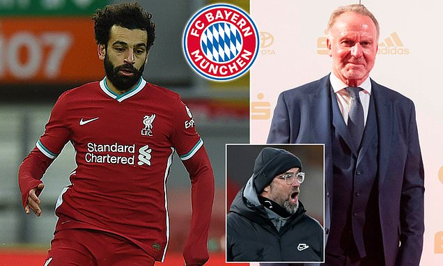 Liverpool have no intention of selling Mohamed Salah to Bayern Munich