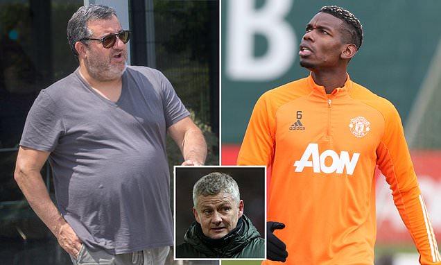 Raiola refuses to comment on Pogba's Manchester United future