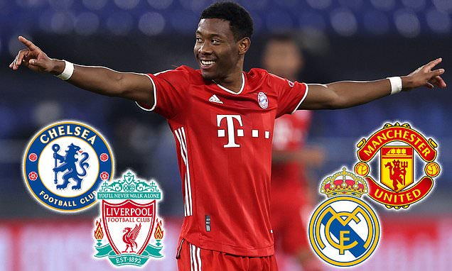 Alaba confirms he WILL leave Bayern Munich on a free transfer