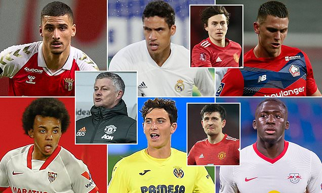 Man Utd need a new centre back so who are their options this summer?