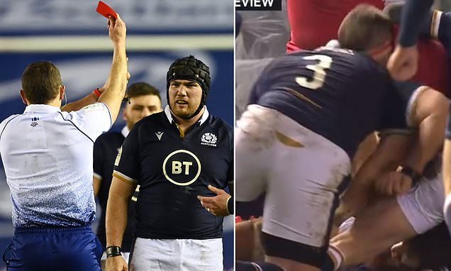 Zander Fagerson BANNED for the rest of the Six Nations
