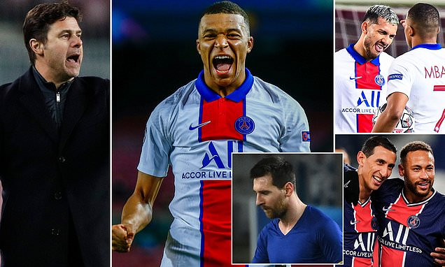 How Pochettino masterminded PSG's perfect night at the Nou Camp