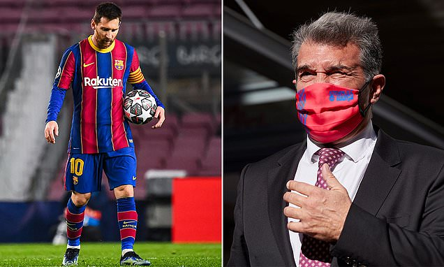Joan Laporta: 'I will do everything possible' to keep 'winner' Messi