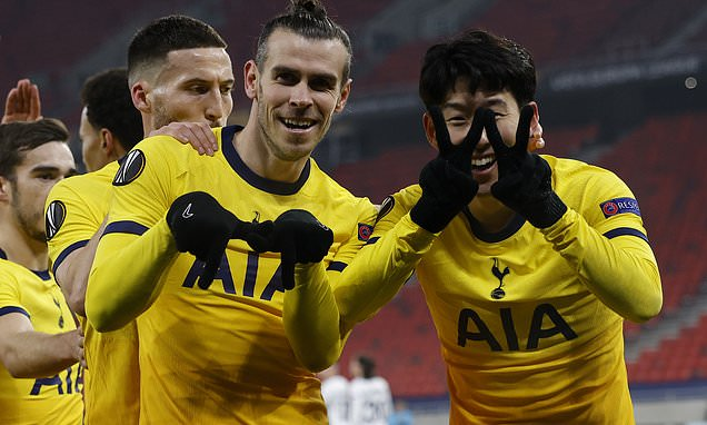 Son says he 'really enjoys' playing with Bale after Spurs' 4-1 win