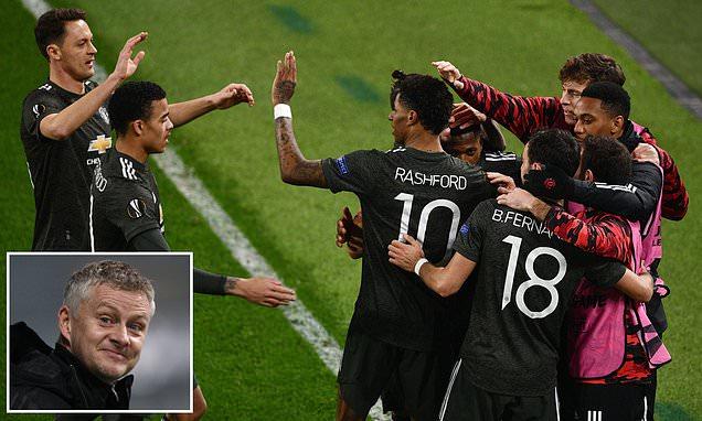 Solskjaer praises 'clinical' Manchester United