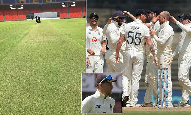 The wicket for third Test between India and England is lush and green