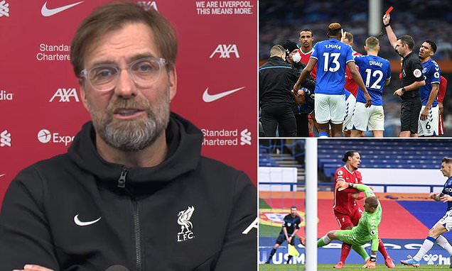 Klopp urges Reds to channel anger in the RIGHT way against Everton