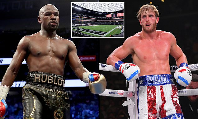 Mayweather wants to fight Paul at home of NFL team Las Vegas Raiders