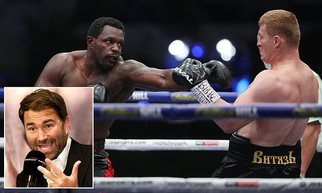 Whyte's rematch against Povetkin could be DELAYED, says Hearn