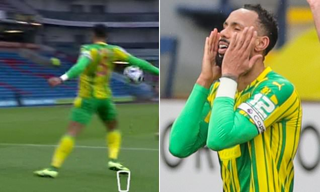 Fans left confused over handball rule following Burnley v West Brom