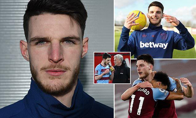DANNY MURPHY: Declan Rice is learning fast and desperate to improve