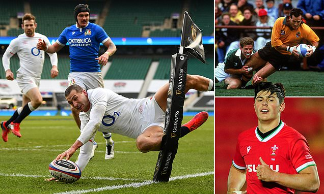 Eddie Jones compares England winger Jonny May to David Campese