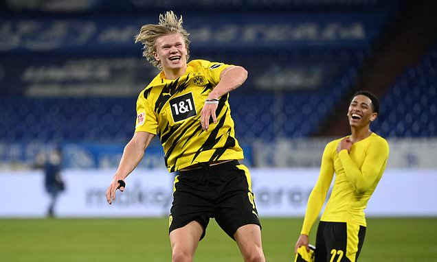 Marco Reus labels Dortmund team-mate Erling Haaland a 'machine'